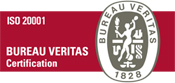 Logo ISO 20001 Bureau Veritas